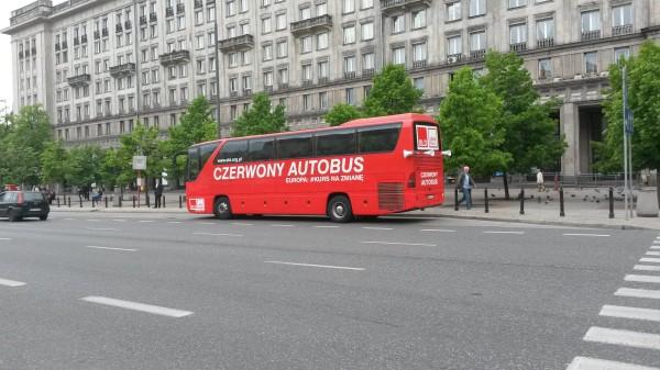 Video-Sat Czerwony Autobus